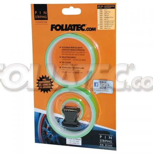 pin strip foliatec