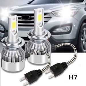 lit lampade h7 led cob c6