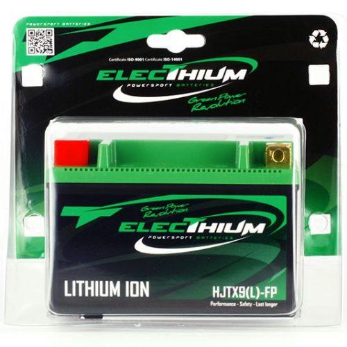 Batteria Litio Electhium Ytx9-bs / Hjtx9(l)-fp